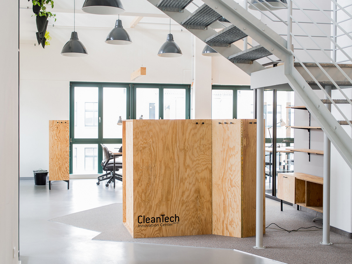 Cleantech Innovation Center Berlin - Bürofläche